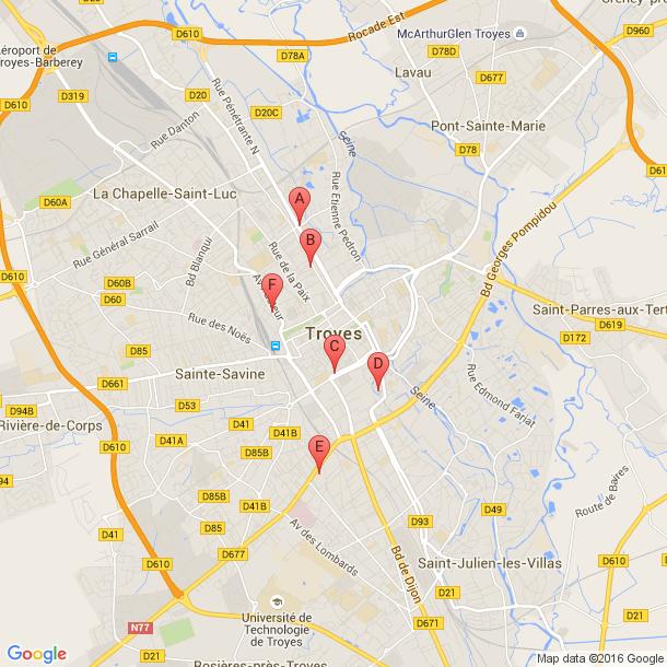Salles De Sport A Troyes Tous Les Avis Infos Seances