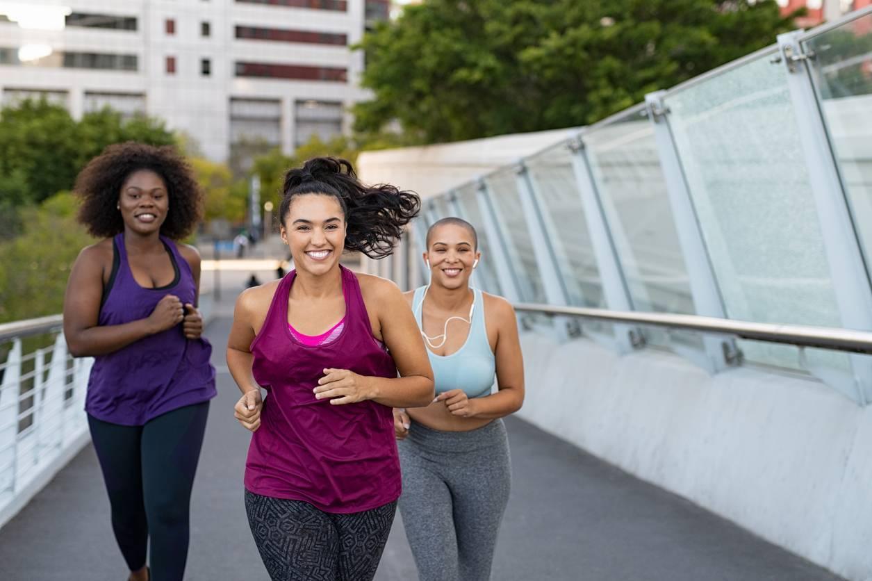 courir sport copines entraînement