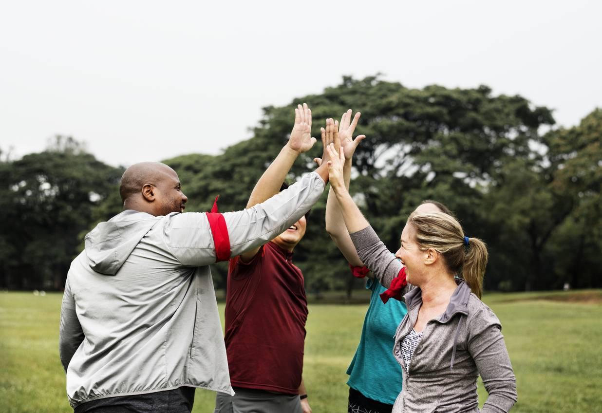 sport motivation groupe objectifs