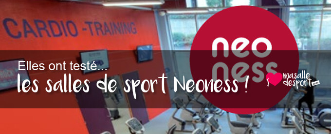 Elles ont testé les salles de sport Neoness